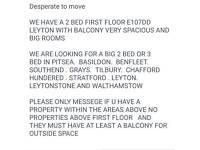 2 BED FIRST FLOOR LEYTON E10
