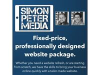 Fixed-price, professionally designed website package