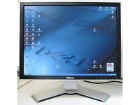 Dell Ultrasharp 2007fp 20.1inch flat panel monitor with stand