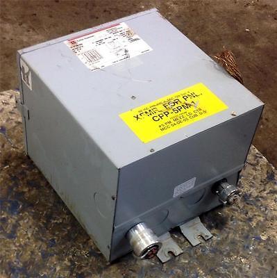 Cutler-hammer 1ph 240x480 To 120240v 25kva Dry Type Transformer S20l11e25a