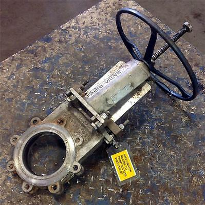 Itt Fabri-valve 6 150 Cwp S316 Knife Gate Valve Fv-c6702110000