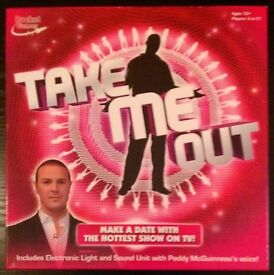 ITV 'Take Me Out' TV Quiz Board Game (new)