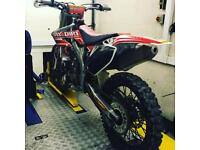 CRF 450R 2006 Troy Lee designs limited edition