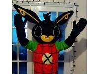 Hire Bing bunny look alike mascot costume