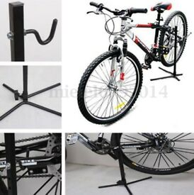 NEW UNUSED, bike repair stand, boxed.