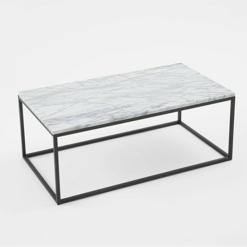 West Elm Marble Top Coffee Table In Camden London Gumtree - West elm marble top coffee table