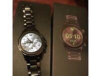 Emporio Armani connected smart watch