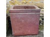 Large square plant pot