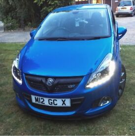Vauxhall Corsa VXR spares and repairs