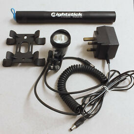 Vistalite 'Nightstick' Ni-Cad re-chargeable front cycle light.