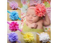Baby flower headbands