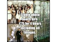 Studio photo booth