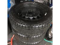 BMW winter wheels set 205 / 55 / 16 Pirelli tyres