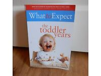 WHAT TO EXPECT - THE TODDLER YEARS by Murkoff, Eisenberg & Hathaway
