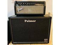 Fender Superchamp X2 Head & Footswitch Palmer 112 Celestion Gbk Guitar Cab