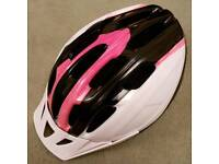 Girl's bike helmet, NEW