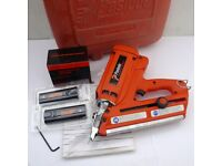 PASLODE IM350 FIRST FIX NAIL GUN, CASE+ACCESSORIES.12 MONTHS WARRANTY