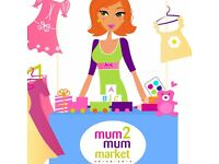 Mum2mum Market - Nearly New Sale where mums sell to mums (and dads)
