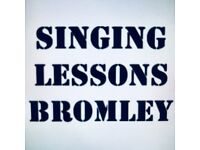 SINGING LESSONS BROMLEY. Private singing lessons from professional singer in Bromley, Kent.