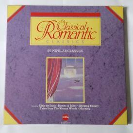 Classical Romantic- 3 vinyl records for sale, 50 tracks