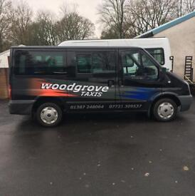 Woodgrove Taxis Dumfries 07721309537