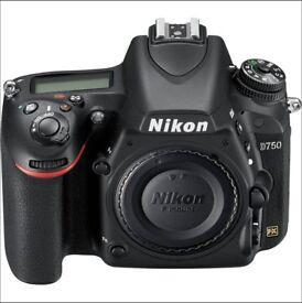 Nikon D750 DSLR Camera - Used in Good Working Order