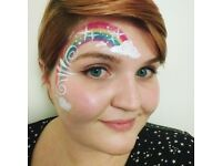 FACE PAINTER party facepainting birthday hen corporate event... facepainter painting facepaint paint