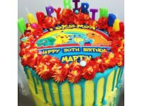 Amazing bespoke celebration cakes available to order.