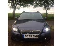 11/2005 VOLVO V50 SE 2.0 D XENON LEATHER HEATED SEATS 2 OWNERS MOT 14.11.17 146000 MILES