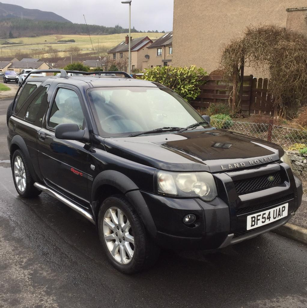 land rover freelander td4 sport in golspie highland. Black Bedroom Furniture Sets. Home Design Ideas