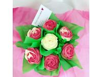 Cupcake bouquets ideal for Mothers Day