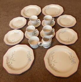 Vintage/ Retro Tea Set (The Chartwell Collection- Mille Fleurs