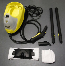 Karcher SC4 2000w 240v. steam cleaner EUC Hard kitchen/bathroom flooring etc.