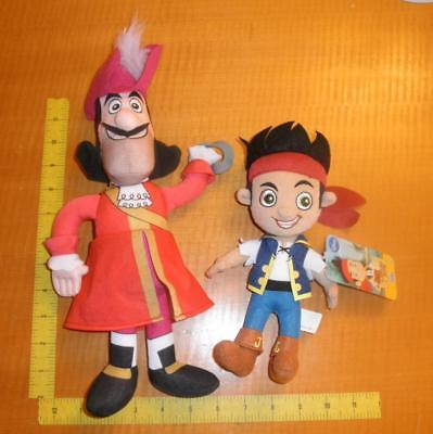 Disney Jake and the Neverland Pirates Plush & Captain