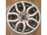 """Brand New MINI Flame Spoke 17"""" Inch Alloy Wheels"""