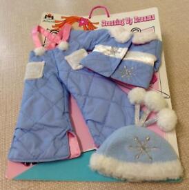 NEW JELLYCAT Dress Up, Dolls Ski Outfit