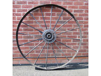 Vintage Large Industrial Wheel