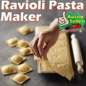 Ravioli Pasta Maker Mould Press Stamp Tray Cutter