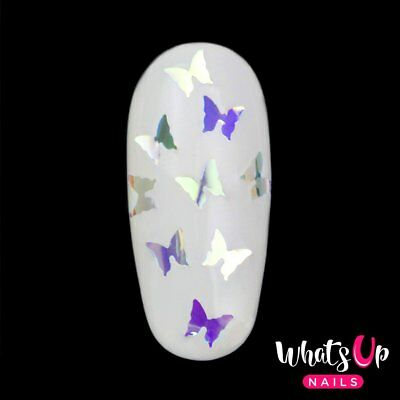 Butterfly Glitter Confetti for Nail Art Design