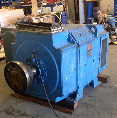 RELIANCE ELECTRIC FRAME B686ATZ 500V 1150/1380RPM 600HP DC MOTOR 7DB847126-T1-VM