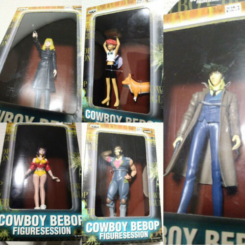 Cowboy Bebop Figure Session Complete Set Spike Spiegel Banpresto 2000