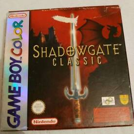Game boy color Shadowgate Classic