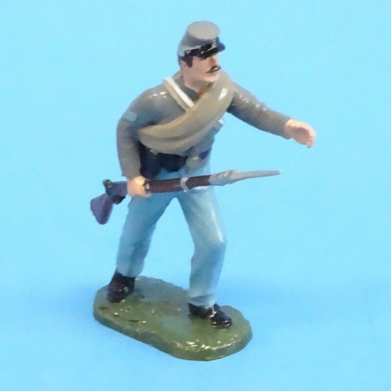 CORD-0867 - Confederate Corporal  - ACW - Unknown Manufacturer - 54mm Metal