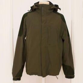 Craghoppers Aquadry Waterproof Med Khaki Jacket - As New