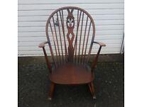 Ercol Fleur de Lis rocking chair