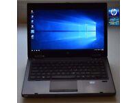 HP 6470b Intel Core i5-2450M windows 10