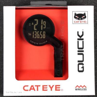 Cateye Quick Cycling Wireless Computer Speedometer Speed Sensor Bracket - Black ()