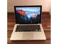 Macbook Pro 13 inch 2011 -2012 laptop 250gb SSD 8gb ram Intel 2.8ghz Core i7 processor