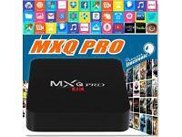 MXQ Pro 4K Tv Android Box