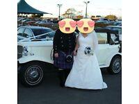 Beautiful Rosetta Nicolini wedding dress